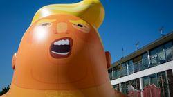 Trump Baby Blimp Hits The Skies Of London During U.K.
