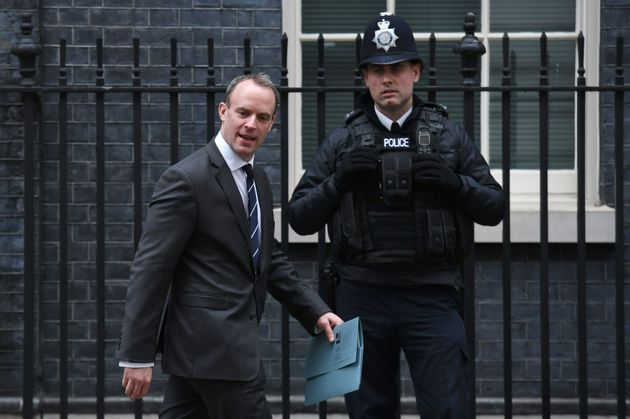 Raab leaving Downing