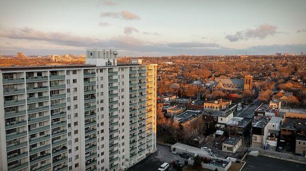 이성진, 권세은씨가 처음 1년간 지냈던 아파트에서 바라본 토론토