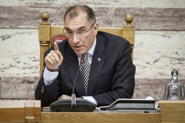Παραιτήθηκε από αντιπρόεδρος της Bουλής ο Δημήτρης