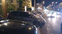 Η Τροχαία «απελευθέρωσε» πεζοδρόμια που λειτουργούσαν ως «πάρκινγκ» νυχτερινών