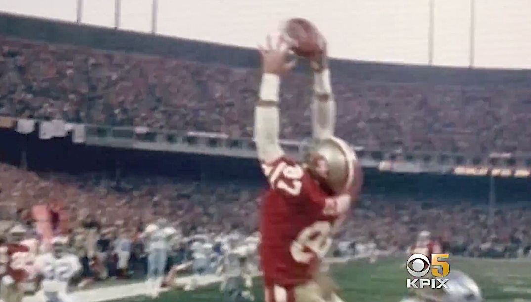 Ashes Of 49ers Hero Who Made 'The Catch' Have The Perfect Resting