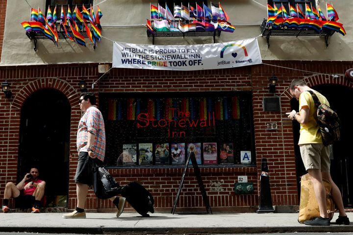 The Stonewall Inn is part of a national monument and the site of the June 28, 1969, uprising that became the symbolic start o