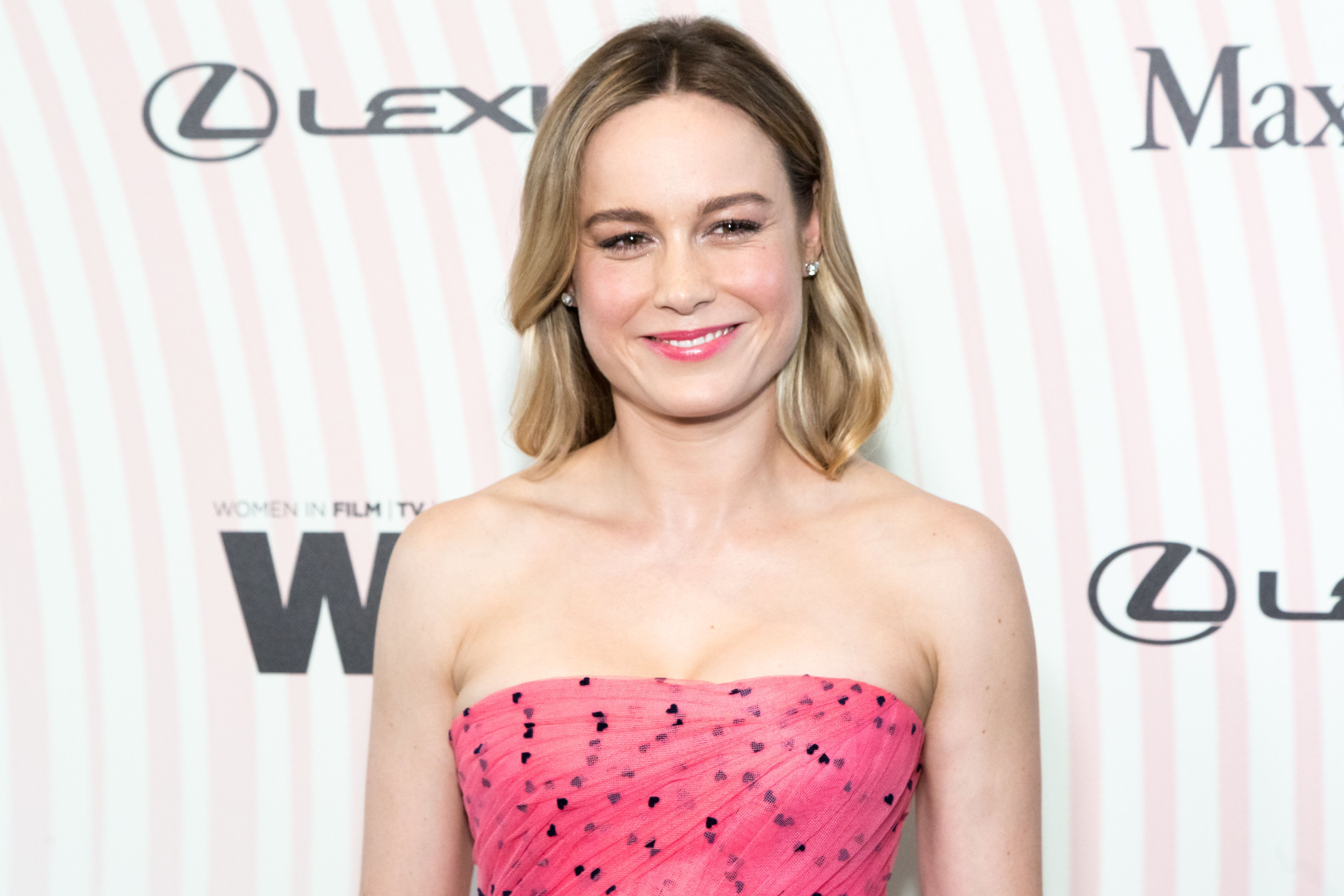 BEVERLY HILLS, CA - JUNE 13:  Brie Larson attends Women In Film 2018 Crystal + Lucy Award at The Beverly Hilton Hotel on June 13, 2018 in Beverly Hills, California.  (Photo by Greg Doherty/Patrick McMullan via Getty Images)