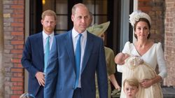 Cambridges Pictured As A Family Of Five For The First Time At Prince Louis'