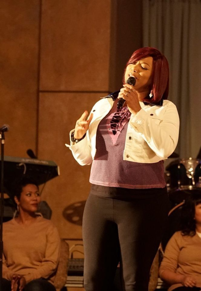 Queen Latifah acts and sings in the Fox series Star.