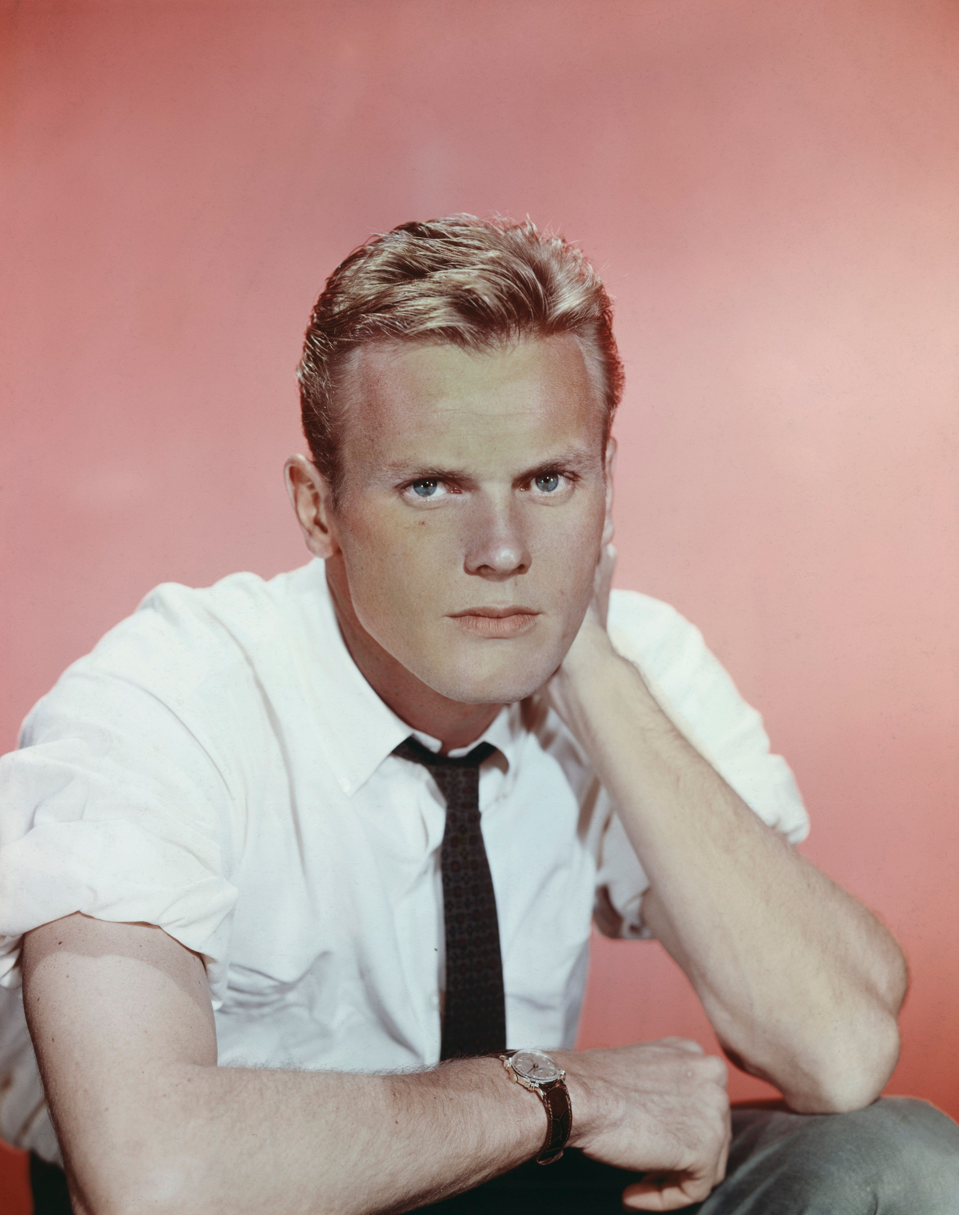 American actor Tab Hunter, circa 1955. (Photo by Henry Gris/FPG/Getty Images)