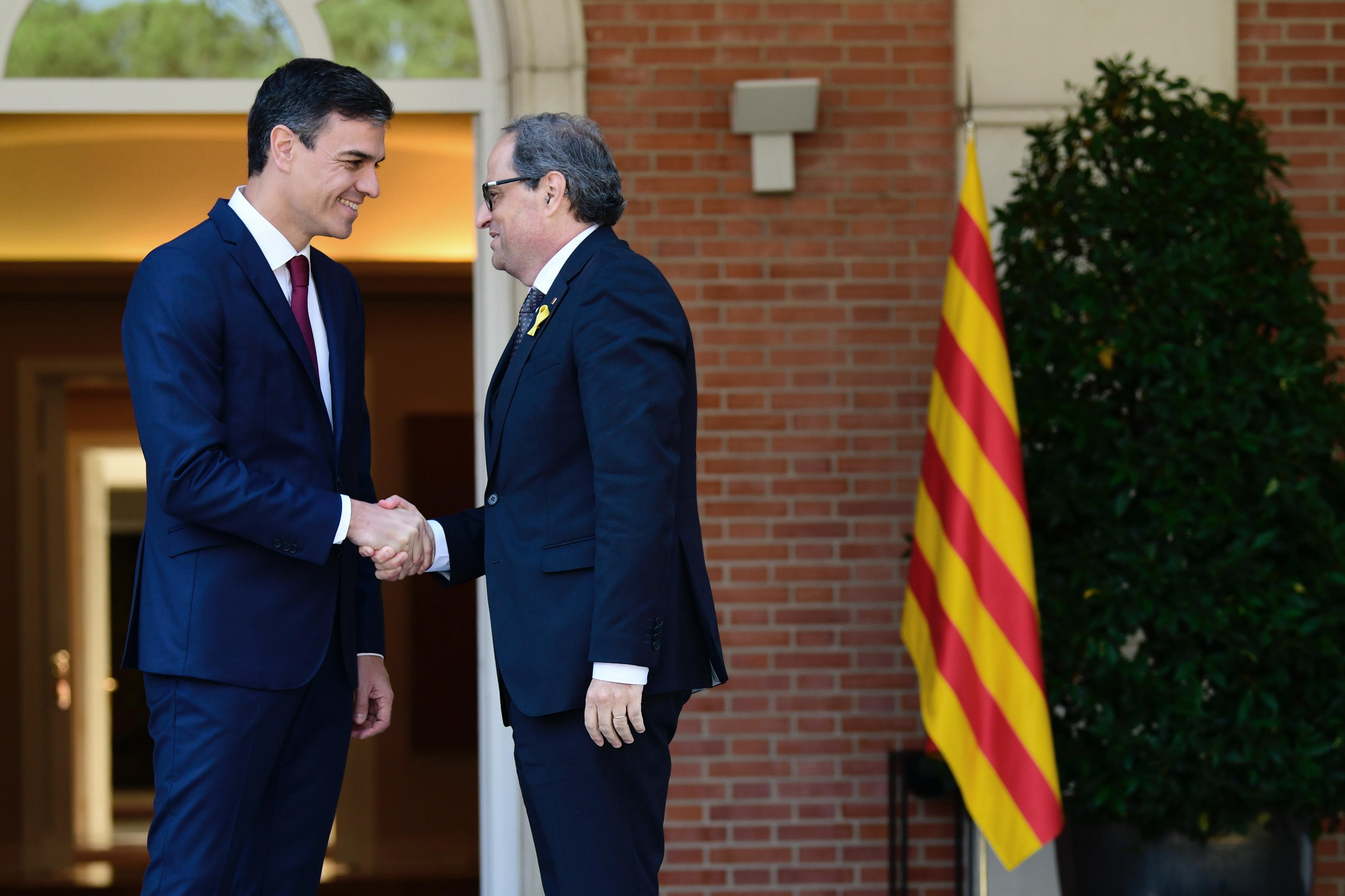 Catalogne: le dialogue reprend mais Torra reste inflexible sur