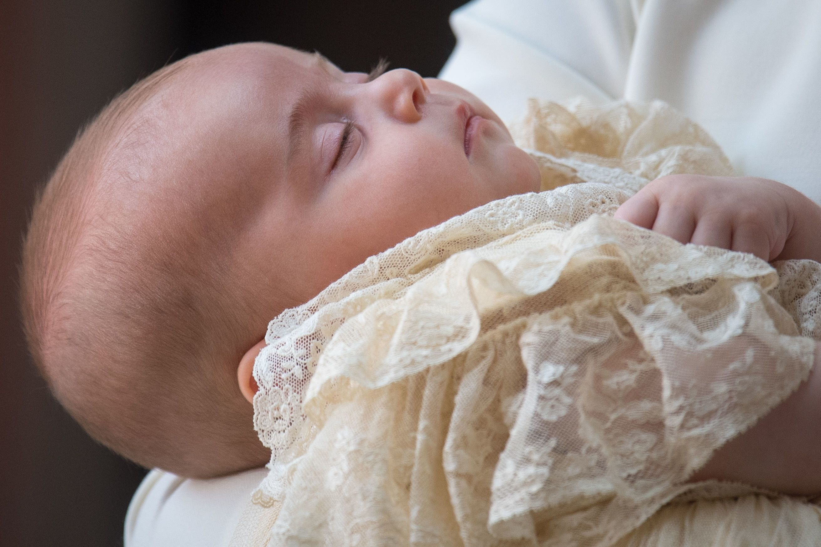 Prince Louis slept through his christening: Best pictures from the ceremony