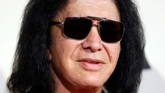 Musician Gene Simmons arrives at the 58th Grammy Awards in Los Angeles, California February 15, 2016.  REUTERS/Danny Moloshok