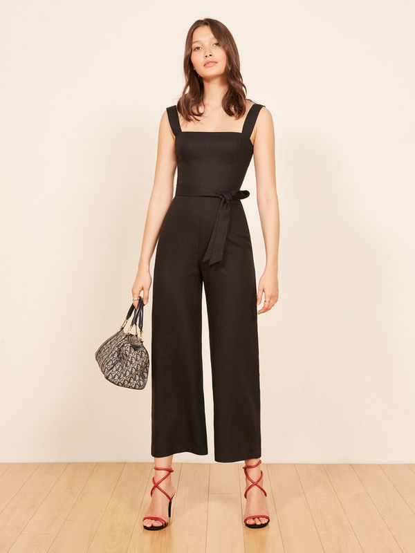 "<strong>Sizes</strong>: 0 to 12<br>Get the <a href=""https://www.thereformation.com/products/birch-jumpsuit?color=Black&amp;vi"