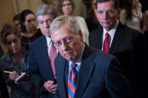 Senate Majority Leader Mitch McConnell (R-Ky.), who denied a Supreme Court seat to President Barack Obama's...
