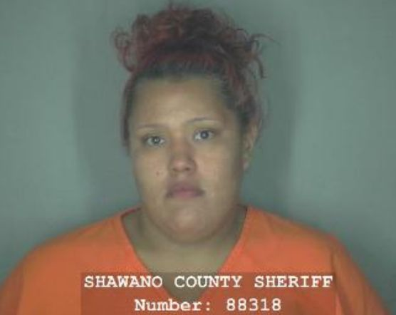 Desiree Webster, 20, is facing six felony drug counts in Shawano County,