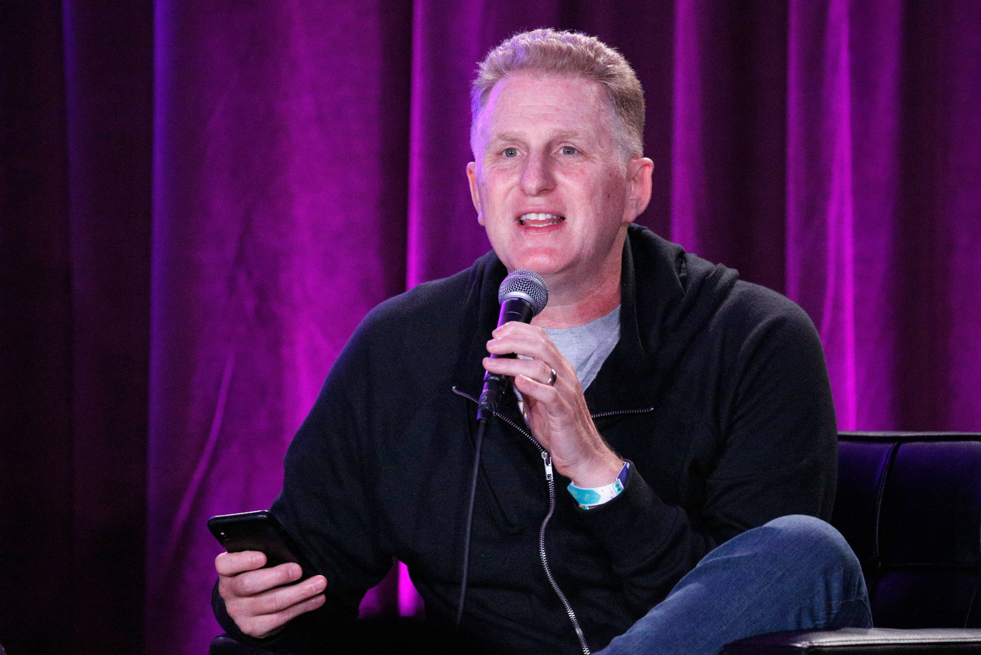SAN FRANCISCO, CA - JUNE 03:  Michael Rapaport performs onstage during 'I Am Rapaport: Stereo Podcast' in the Room 415 Comedy Club during Clusterfest at Civic Center Plaza and The Bill Graham Civic Auditorium on June 3, 2018 in San Francisco, California.  (Photo by FilmMagic/FilmMagic)