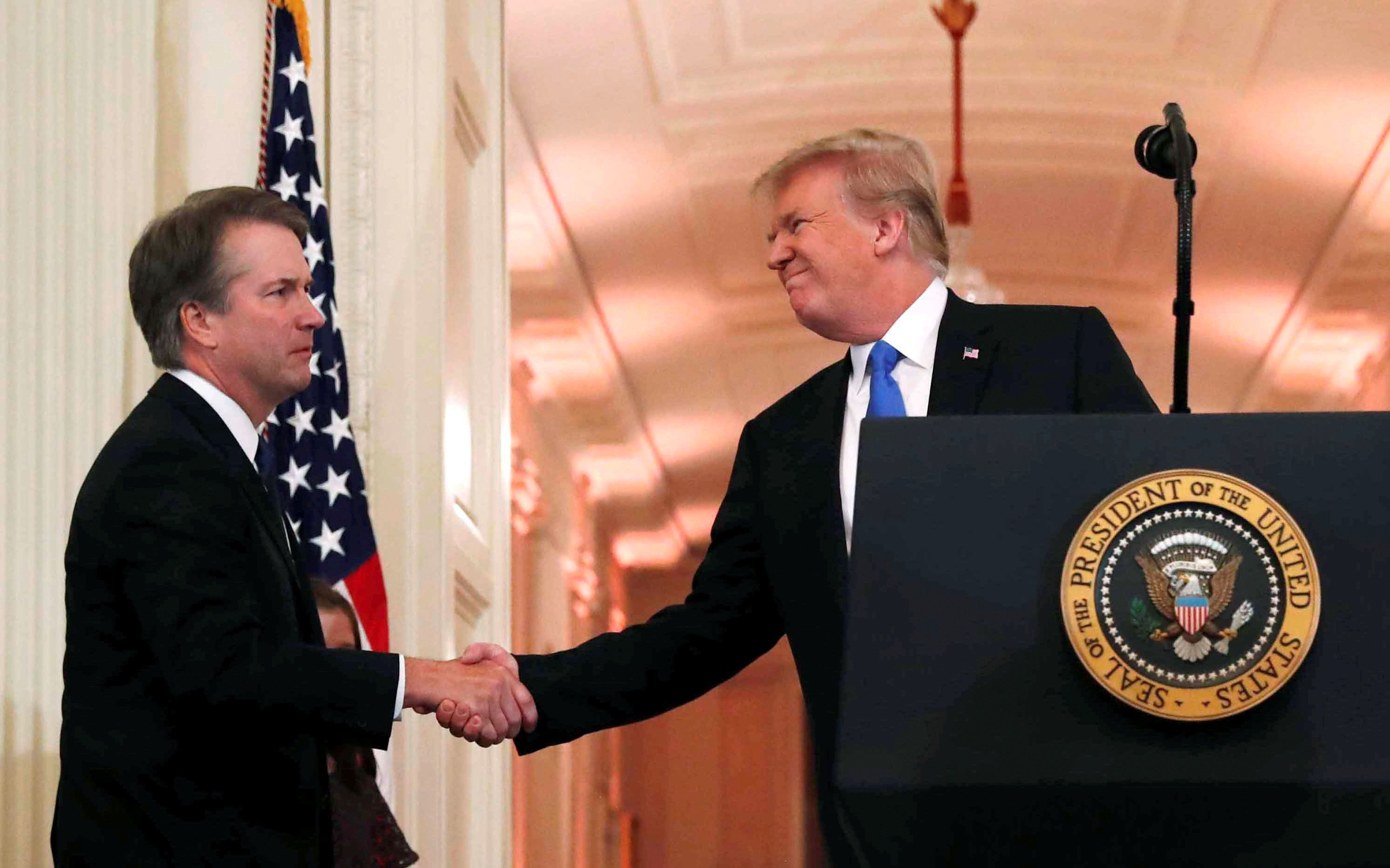 Trump Nominates Brett Kavanaugh For Supreme Court In Bid To Entrench Conservative