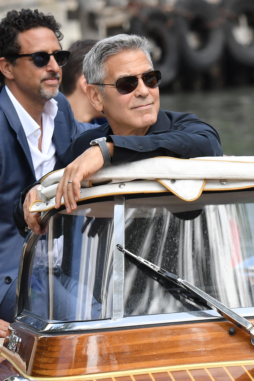Bericht: George Clooney erleidet Unfall auf Sardinien