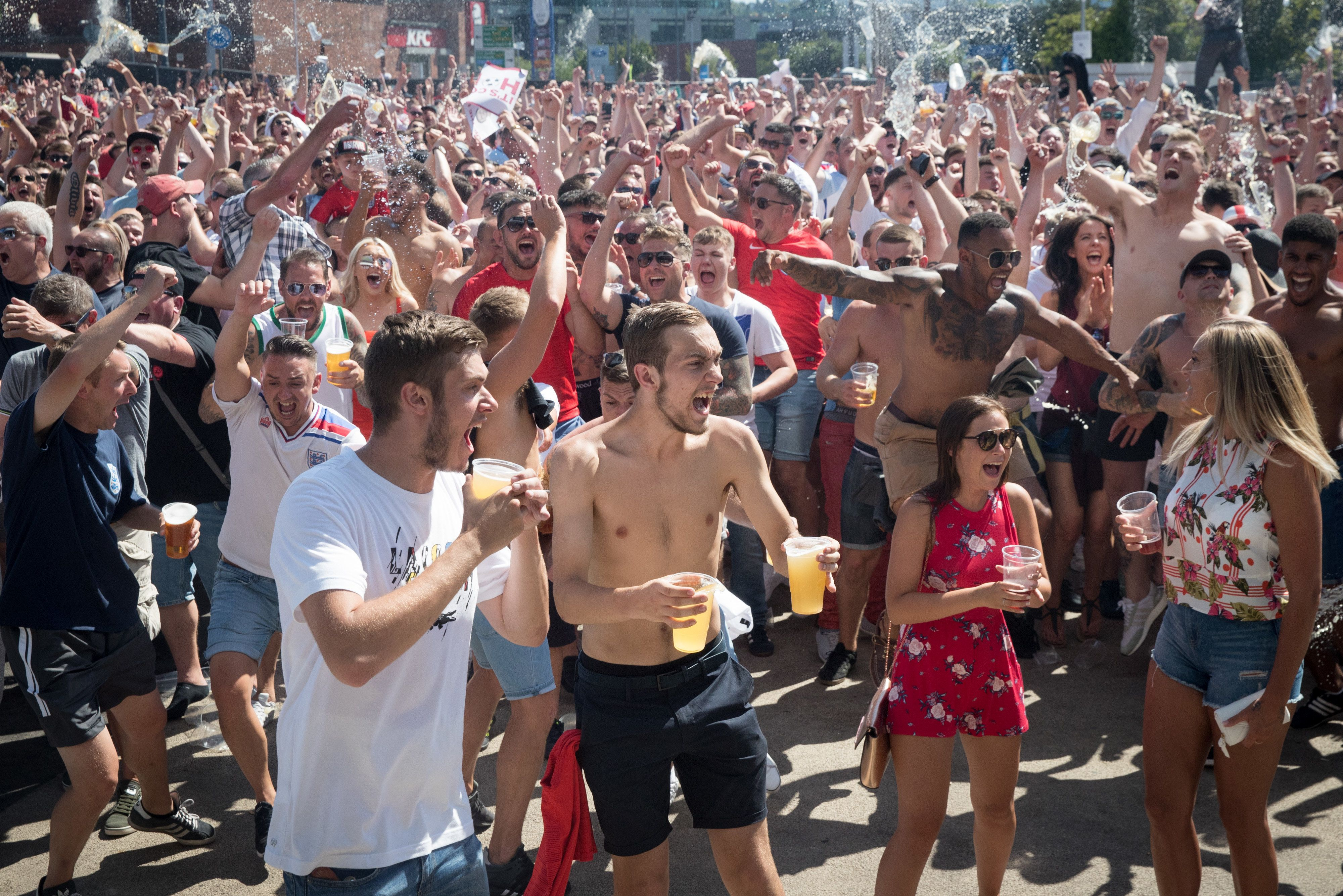 England World Cup Success Boosts Pub Spending By A Third, Study