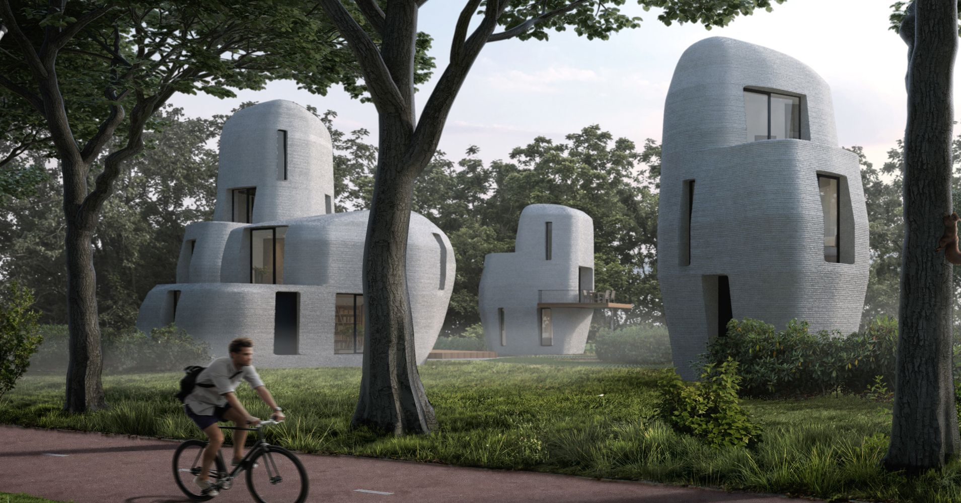The Netherlands Plans To Build World's First Habitable 3D