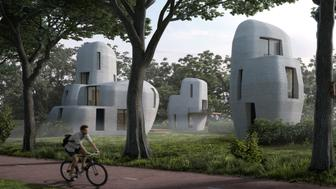 3D printed houses in Eindhoven