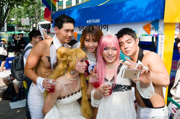 ▲ SPIKE, 차세빈님 : 퀴어문화축제, 2015.6.28.