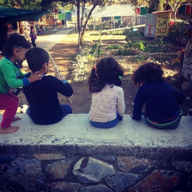 Young residents at the Pikpa