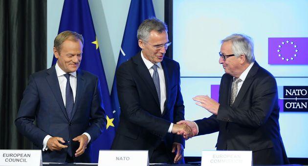 Ενίσχυση συνεργασίας ΕΕ- ΝΑΤΟ για την καταπολέμηση των διακινητών μεταναστών και της