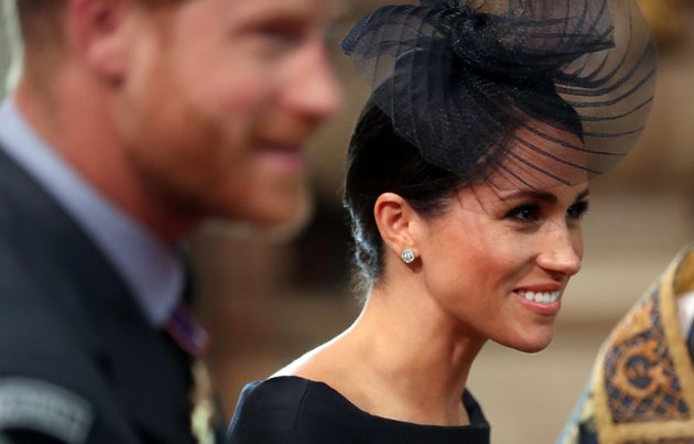 The Duke and Duchess of Sussex at Westminster Abbey on July
