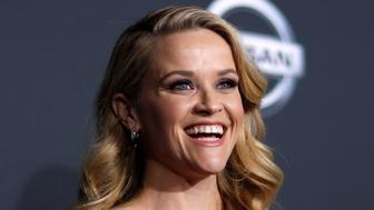 "Cast member Reese Witherspoon poses at the premiere of ""A Wrinkle in Time"" in Los Angeles, California, U.S., February 26, 2018.  REUTERS/Mario Anzuoni"