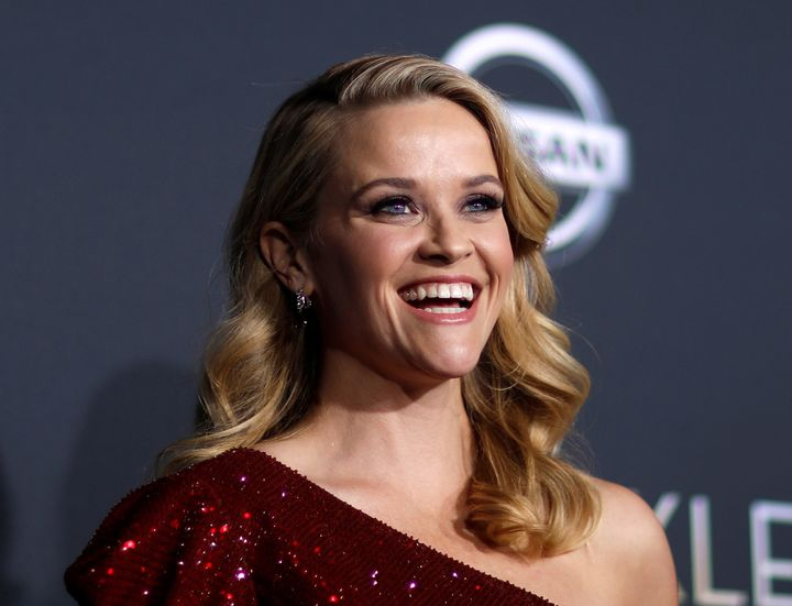 """Reese Witherspoon poses at the premiere of """"A Wrinkle in Time."""" Her new series will share """"the stories of extraordinary"""