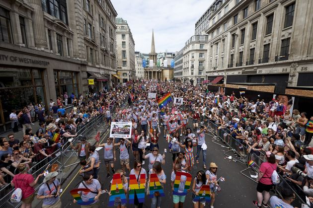 The London Pride parade this past weekend was disrupted by a group of so-called TERFs -- trans-exclusionary...
