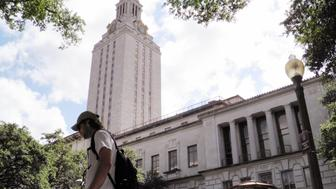 A student walks at the University of Texas campus in Austin, Texas, U.S. on June 23, 2016. The U.S. Supreme Court on Thursday, upheld the practice of considering race in college admissions, rejecting a white woman's challenge to a University of Texas affirmative action program designed to boost the enrollment of minority students. REUTERS/Jon Herskovitz/File Photo