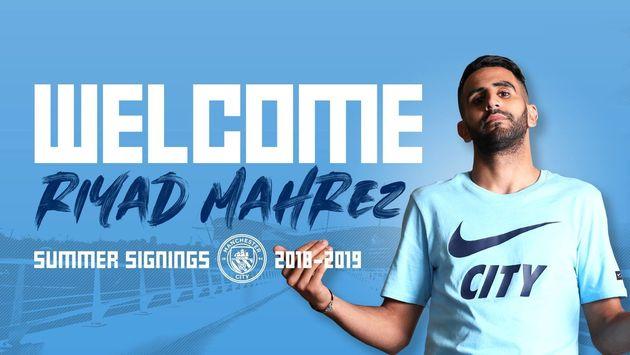 Riyad Mahrez signe à Manchester City après de longs mois