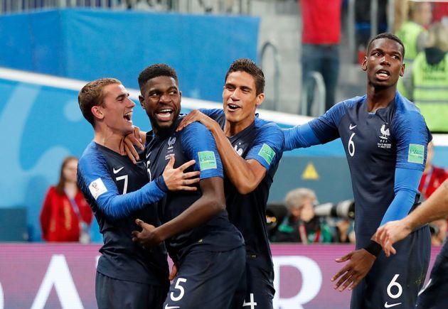 '움티티 결승골' 프랑스, 12년 만에 결승행...벨기에 1-0