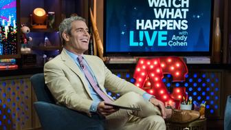 WATCH WHAT HAPPENS LIVE WITH ANDY COHEN -- Pictured: Andy Cohen -- (Photo by: Charles Sykes/Bravo/NBCU Photo Bank via Getty Images)