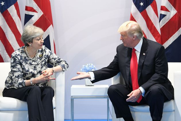 When May Meets Trump, She Must Extol The Virtues Of Universal