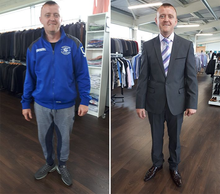 'I Feel Like A Different Man': This Charity Provides Job Interview Outfits To Those Who Need Them