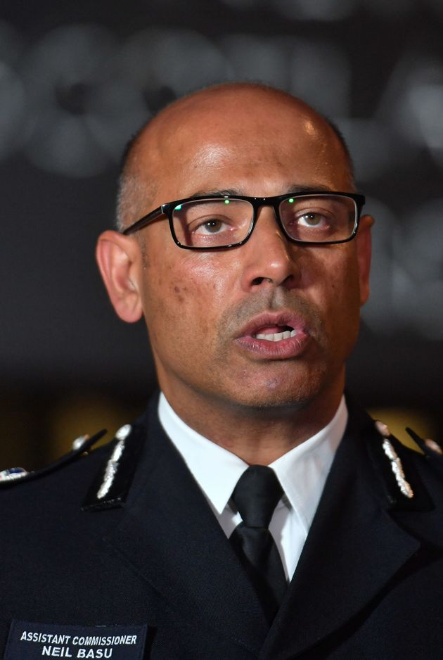 Neil Basu, the Met Police's assistant commissioner for specialist