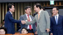 갈 데까지 간 한국당 갈등 상황 보여주는 김진태의 김성태