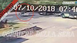 La vidéo de l'accident de George Clooney montre que ça aurait pu être beaucoup plus grave