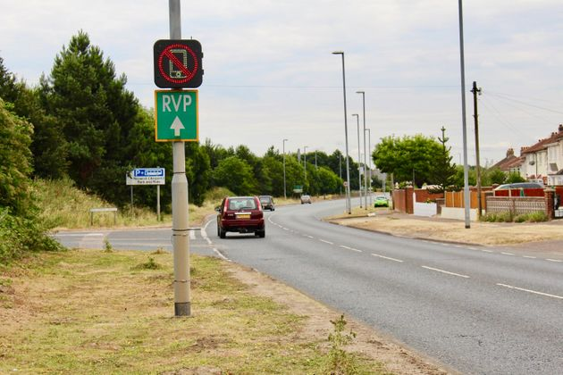 New Road Signs Will Catch You Using Your Phone Behind The