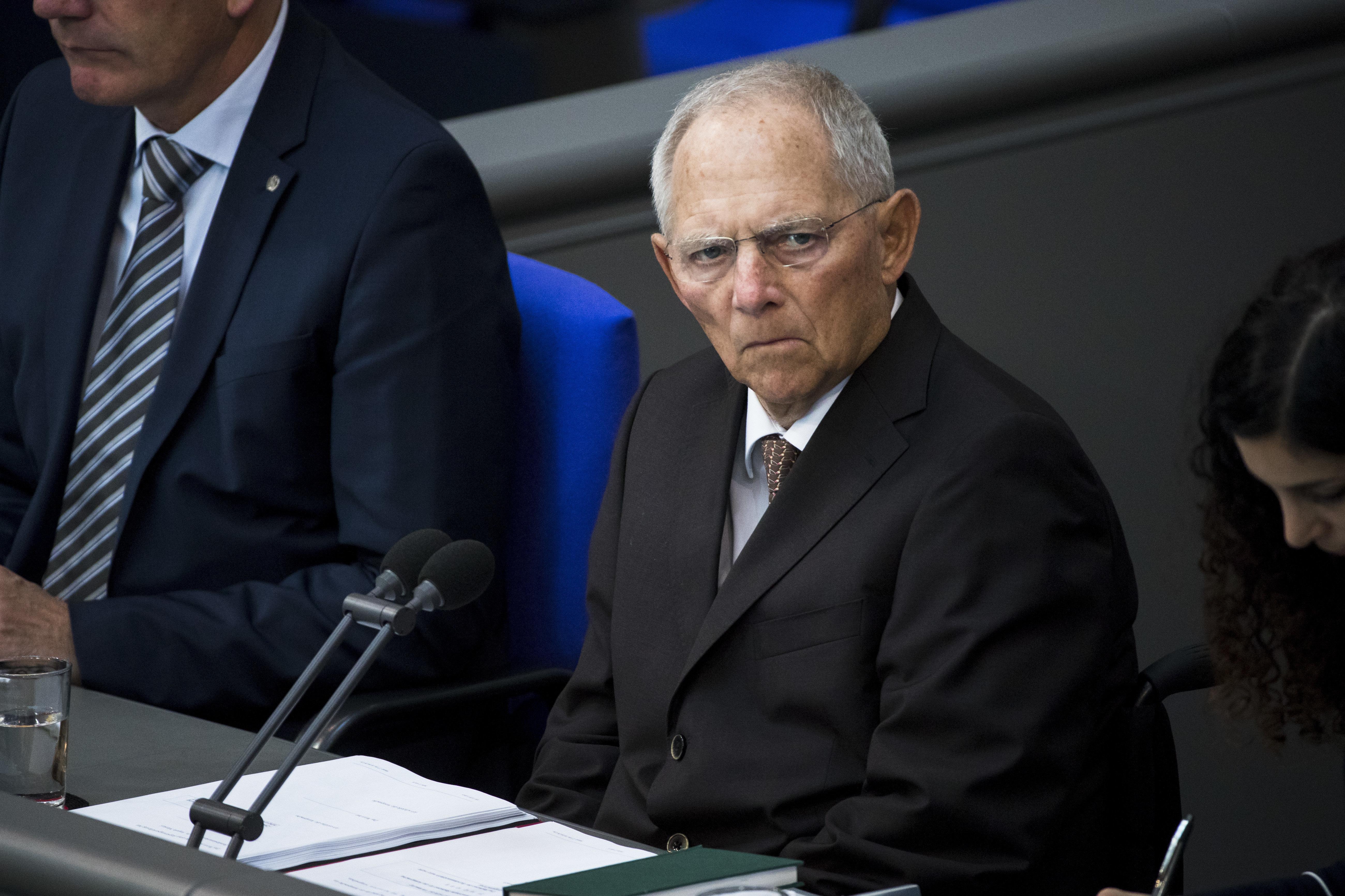 Wolfgang Schäuble kritisiert den