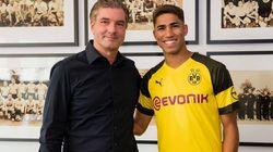 Mercato estival: l'international marocain Achraf Hakimi prêté à Dortmund