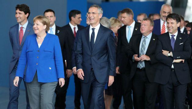 Trump drängt Nato-Mitglieder zu Militärausgaben von vier