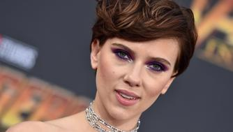HOLLYWOOD, CA - APRIL 23:  Actress Scarlett Johansson attends the premiere of Disney and Marvel's 'Avengers: Infinity War' on April 23, 2018 in Hollywood, California.  (Photo by Axelle/Bauer-Griffin/FilmMagic)