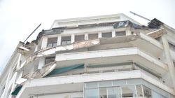 Le balcon d'un immeuble situé au coeur de Casablanca s'effondre (et c'est impressionnant)
