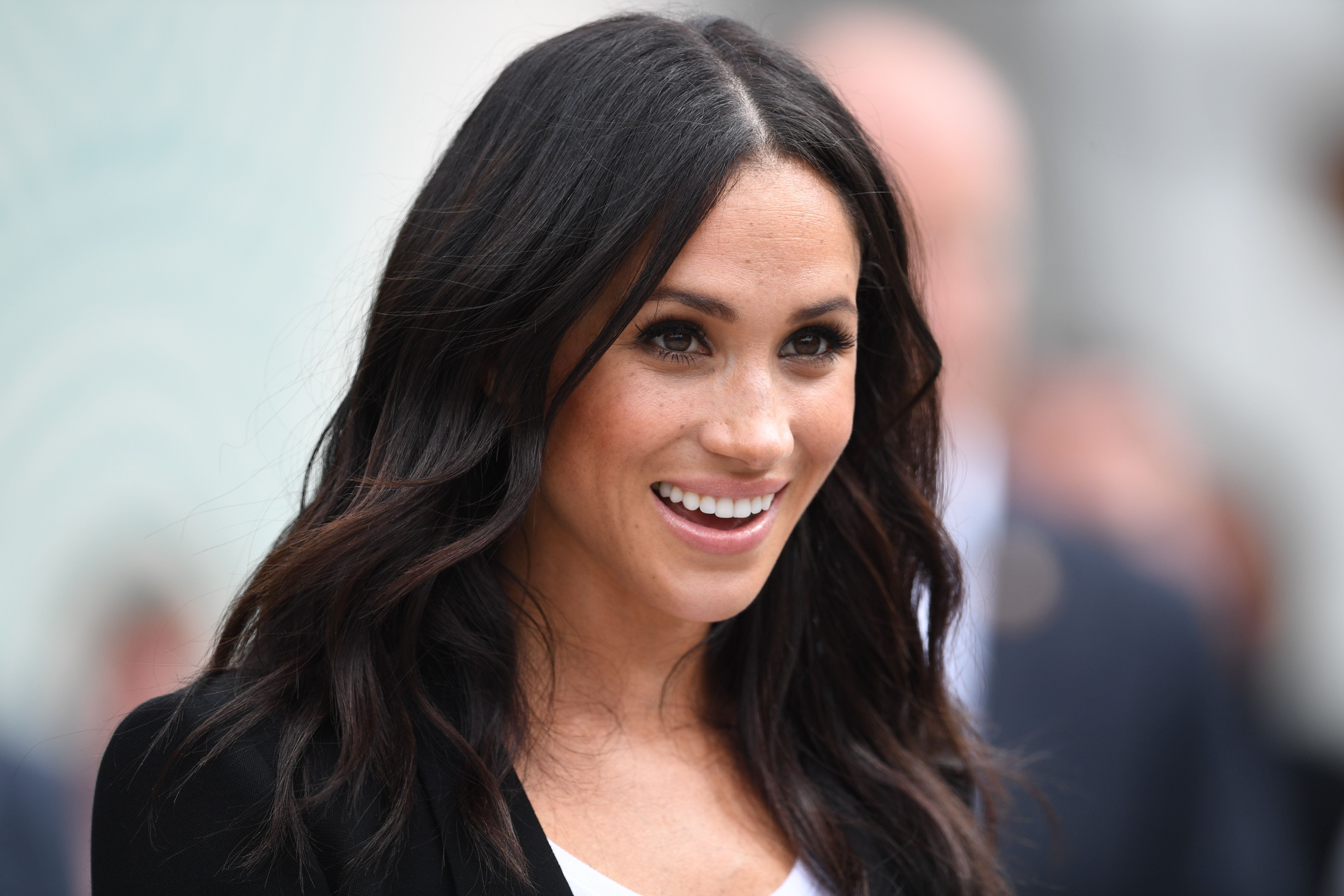 The Duchess of Sussex pictured during her visit to Dublin, Ireland on July