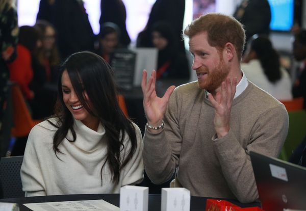 The couple visits Millennium Point to celebrate International Women's Day on March 8 in Birmingham, England.
