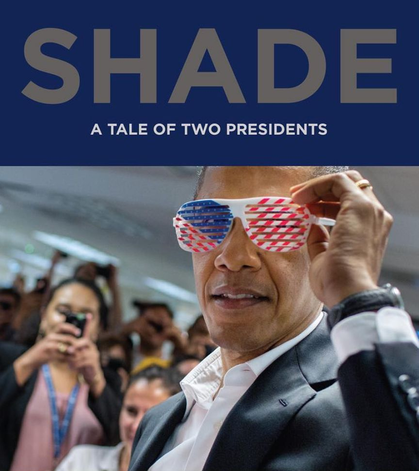 Obama Photographer Pete Souza's New Book Cover Brings The Shade