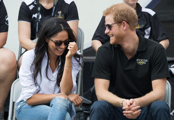 Harry and Meghan at the Invictus Games Toronto 2017 on Sept. 25, 2017.
