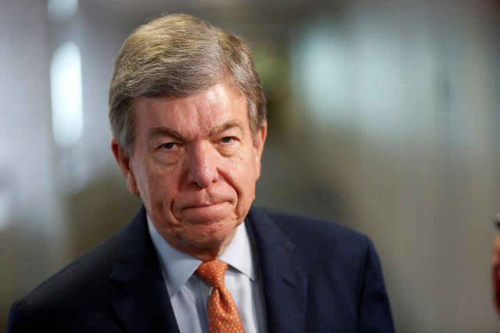 Sen. Roy Blunt (R-Mo.) led negotiations ona Senate bill that watered down protections for victims of sexual harassment